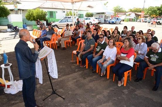 Na abertura o presidente Coronel Ivo disse que estaria entregando a Deus o sucesso do evento