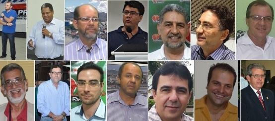 Pelo menos 14 nomes são mantidos como postulantes ao cargo de prefeito
