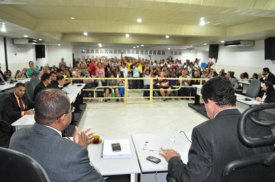 Totalidade dos vereadores esteve presente à sessão