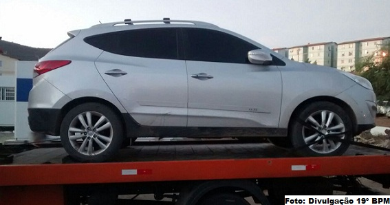 Veículo teria queixa de furto na delegacia de Condeúba