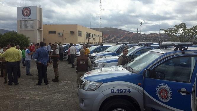 Novas viaturas para renovação da frota PM em Jequié e região