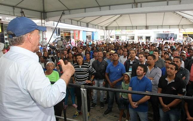 Vice-governador João Leão representou o governo do estado em Jaguaquara
