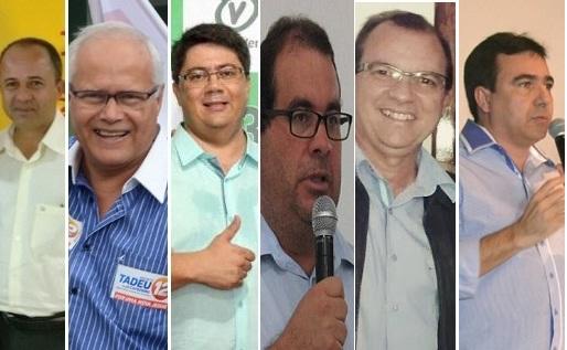 Os seis candidatos a prefeito estiveram representados na reunião preparatória do debate