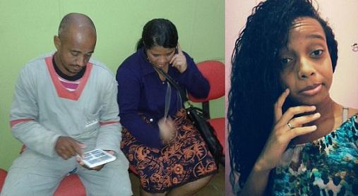 Casal Paulo Sérgio e Carmelita publicou foto da filha Tâmara nas redes sociais