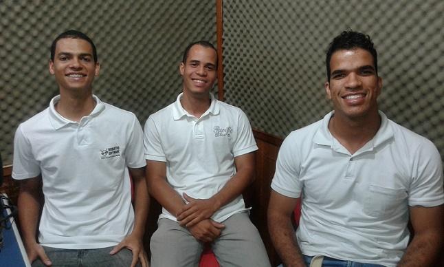 Gabriel Lima, Lúcio Aguiar e Luan Leite atuando na área da Tecnologia da Informação