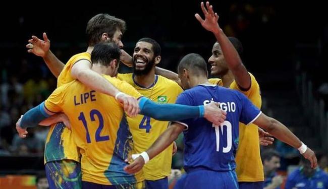 Vôlei masculino do Brasil conquista o ouro olímpico após 12 anos ... e420e09e36600