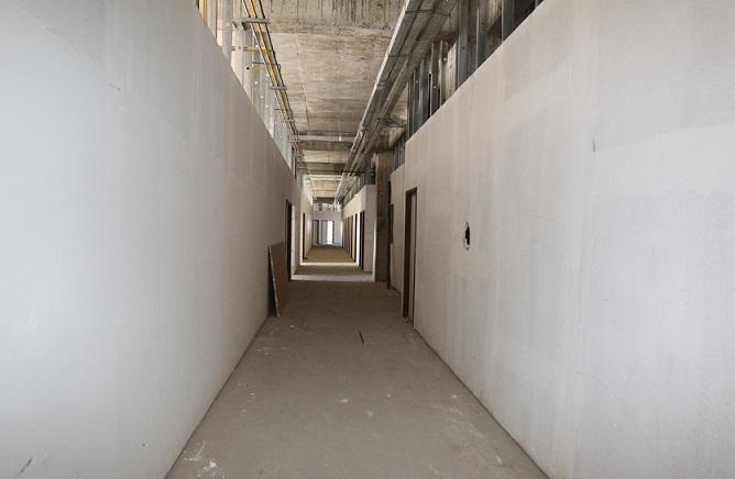 Área onde foi construído o Centro de Bioimagem do Hospital Geral Prado Valadares
