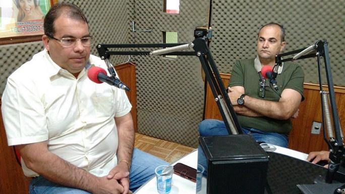 Sérgio da Gameleira acompanhado de Hssan Yosseff foi entrevistado pela 93 FM