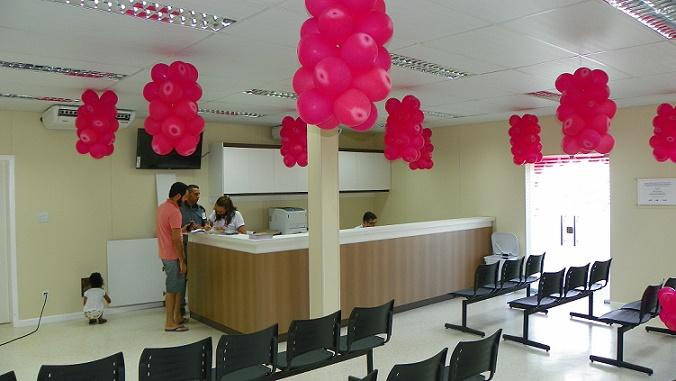Recepção do Centro de Bioimagem inaugurado recentemente no Hospital Prado Valadares