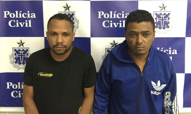 Adriano dos Santos (blusão azul) condenado a 30 anos. Fábio Santos ainda será julgado