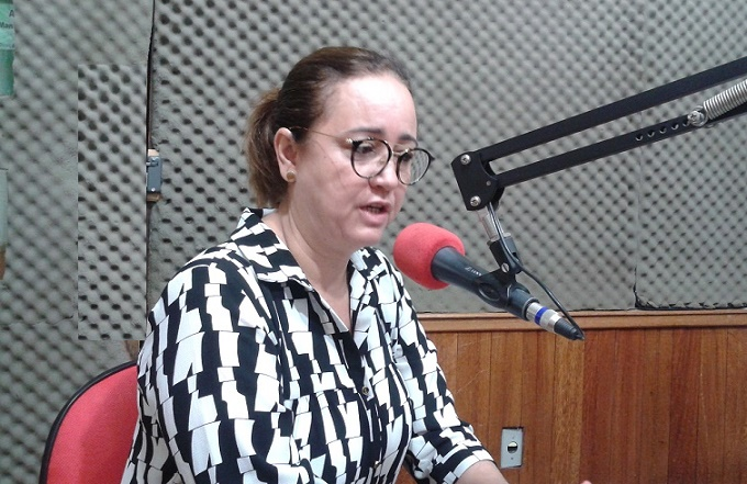 Neide Sampaio, presidente do Sinserv diz que situação os trabalhadores é caótica