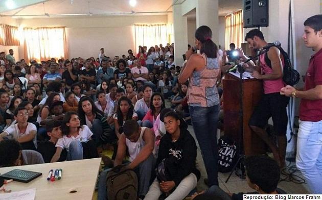 Ocupação no campus do IF Baiano em Santa Inês