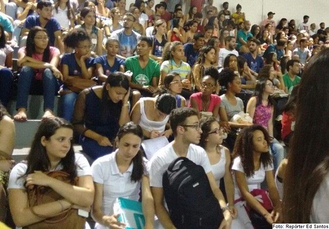 Ocupação no campus da UESB Jequié