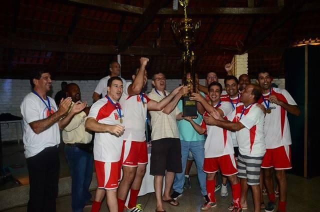 Time do Bradesco Jequié comemorou o título de campeão