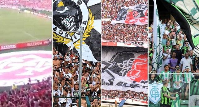 Internacional pela primeira vez na segundona juntou-se a Figueirense, Santa Cruz e América-MG
