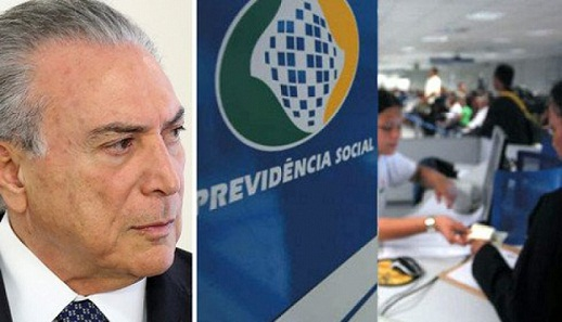Presidente Michel Temer diz que reforma da Previdência é indispensável