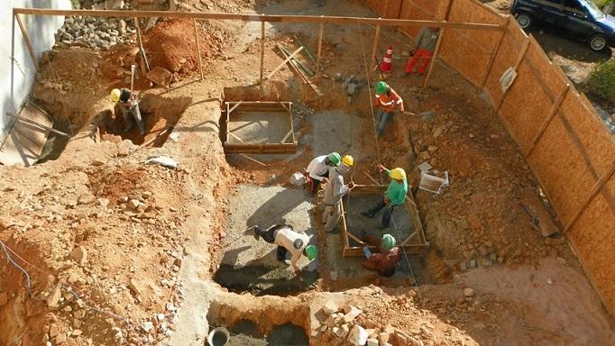 Obras em andamento na estrutura da nova emergência do HGPV