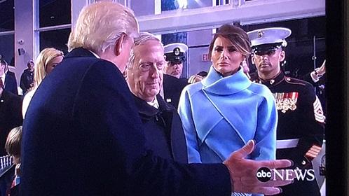 Marine filho de jequieense atua na cerimônia de posse de Donald Trump