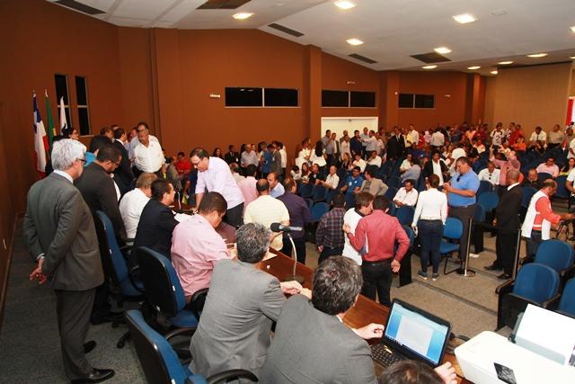 Eleição realizada no auditório Lomanto Júnior registrou intensa movimentação