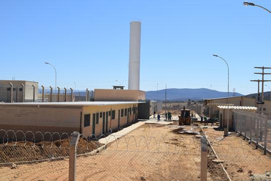 Unidade prisional em processo de construção em Brumado