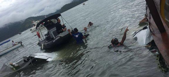 Avião caiu no mar, a 2km da Ilha Rasa, em Paraty, na última quinta, 19