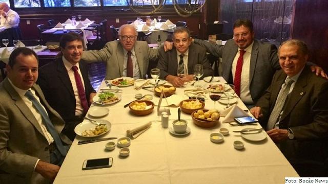 Almoço reuniu seis dos sete deputados do PSL baiano