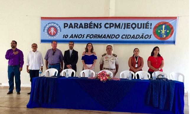 Direção do CPM/Jequié recebeu autoridades convidadas