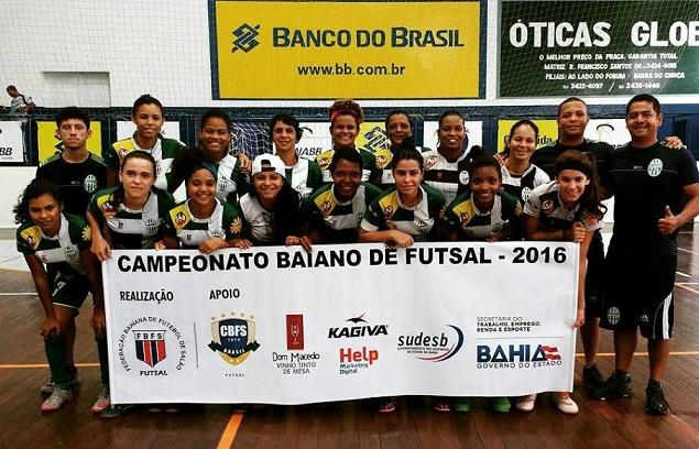 Jequié Esporte Clube representará o futsal feminino da Bahia na competição nacional