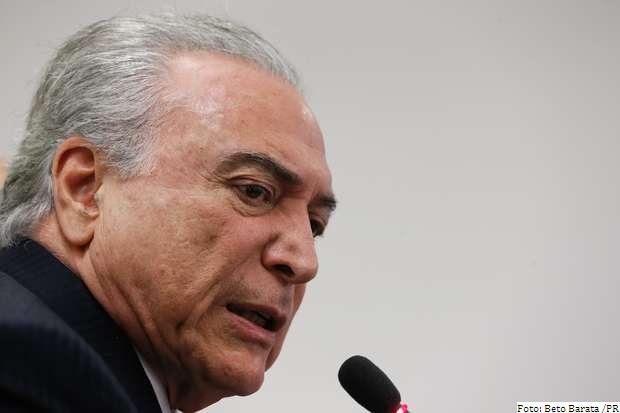 Presidente Michel Temer diz que apenas denunciados, os ministros serão afastados provisoriamente