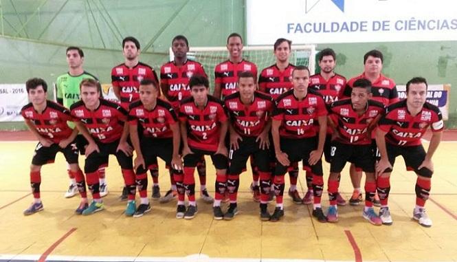 O Vitória, de Salvador, será o representante da Bahia no futsal masculino