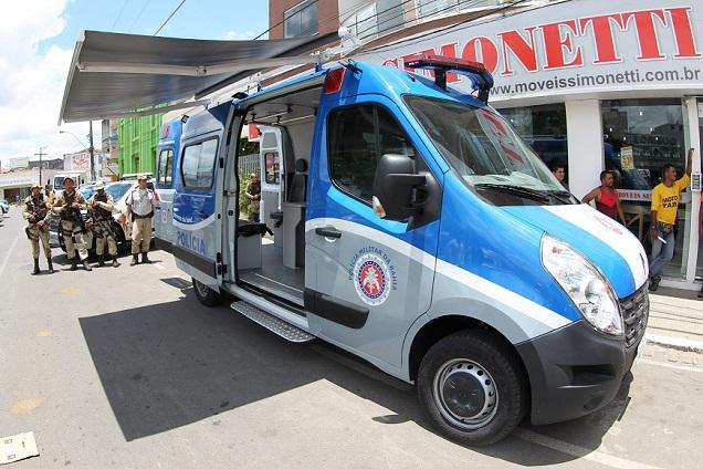 Unidade Móvel e viaturas para as Polícias Militar, Civil e CIPE Central foram destinadas a Jequié