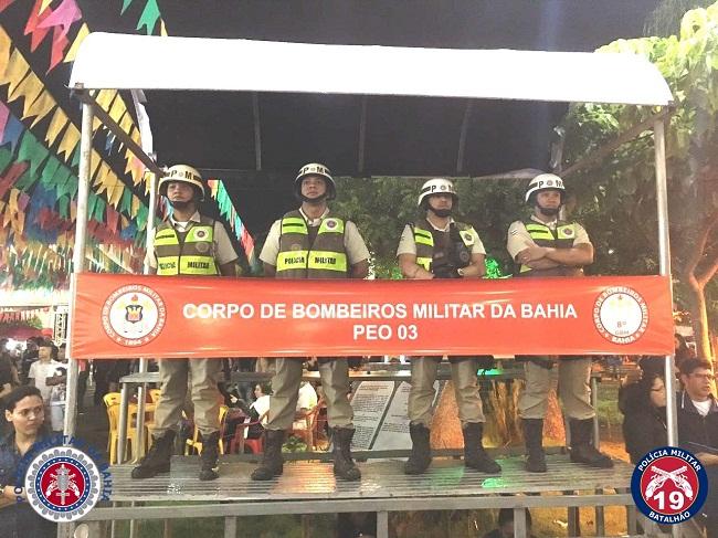 19º BPM com mais de 90 policiais nas ruas durante o São João