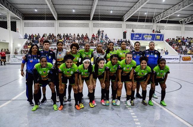 Futsal feminino: Jequié joga bem mas perde a primeira na Copa do Brasil