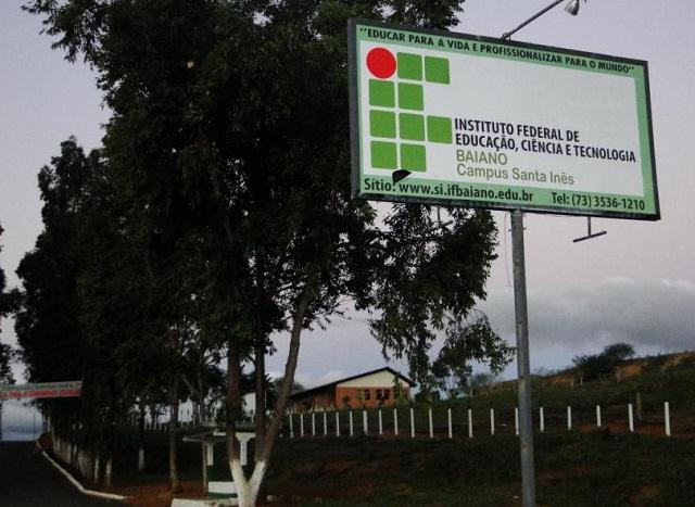 Campus do IF Baiano em Santa Inês oferta cursos técnicos