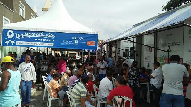 Prefeitura e Santa Casa de Jequié realizam ato para o Novembro Azul