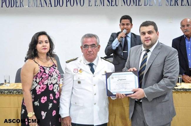 Tenente Coronel José Silvério recebe título de Cidadão de Jequié – Jequié  Repórter
