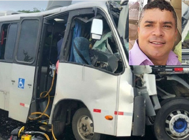 Vereador do município de Gavião estava no ônibus do acidente na BR-116; político permanece internado no HGPV