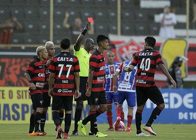 Procurador do TJD pede rebaixamento do Vitória do Campeonato Baiano 2018