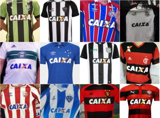 Mais de duas dezenas de clubes da elite do futebol brasileiro podem ter que  dar adeus ao patrocínio da Caixa Econômica Federal 5bf81d70d92ec