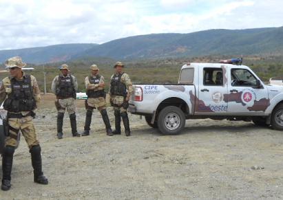 Policial baleado está lotado no efetivo da CIPE/Sudoeste (foto arquivo)